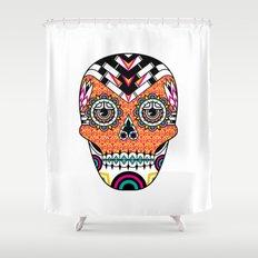 Deco Skull Shower Curtain