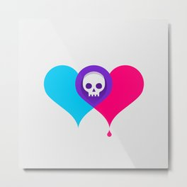 A Death-Marked Love Metal Print