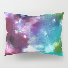 Abstract in Purple and Blue Pillow Sham
