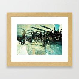Shibuya Crossing (1) Framed Art Print
