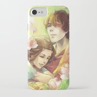 zuko iPhone & iPod Cases featuring Dreamers by TEAM JUSTICE ink.