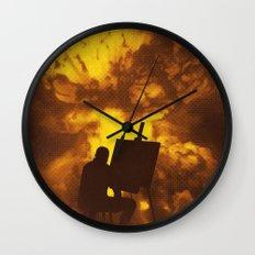 Disasterpiece Wall Clock