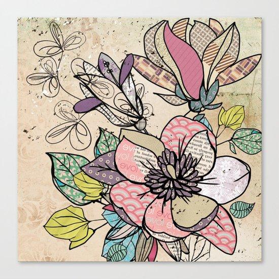 Paper Flowers #5 Canvas Print