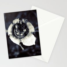 beautiful dead flower Stationery Cards
