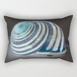 Glowing Snail Rectangular Pillow