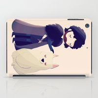 thrones iPad Cases featuring Night Gathers by Nan Lawson