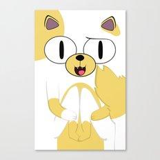 CAKE THE CAT Canvas Print