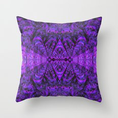 Violet Void Throw Pillow