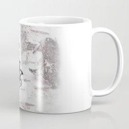 Berkana Rune in Tribal Tattoo Style Coffee Mug