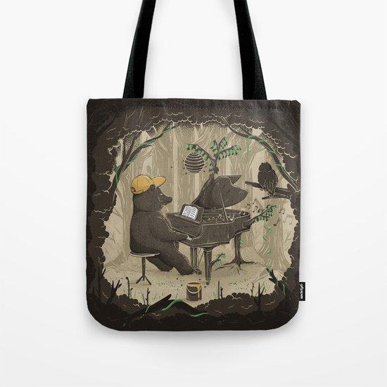 Forestal Sounds Tote Bag
