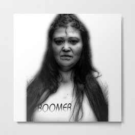 Boomer Metal Print
