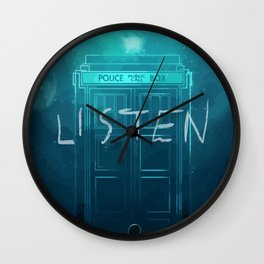 Listen Wall Clock