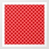 polka dot Art Prints featuring Polka dot by David Zydd