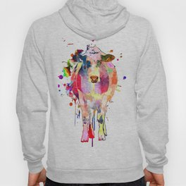 Colored Cow Hoody