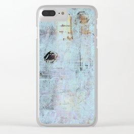Aqua Stories Clear iPhone Case