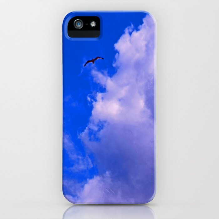 """Clouds #73"" Photo with poem: Love Is #4 iPhone Case"