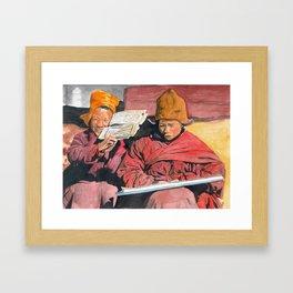 Novices Framed Art Print