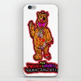 The Walking Dead Muppet... Fozzie Bear!  The Waka-Waka-Waka-ing Dead! iPhone Skin