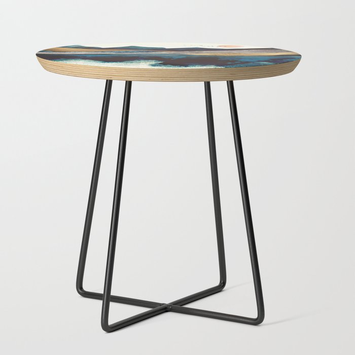 Blue_Mountain_Reflection_Side_Table_by_SpaceFrogDesigns__Black__Round