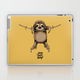 Hang in There Baby Sloth Laptop & iPad Skin