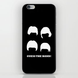 Guess the band! iPhone Skin