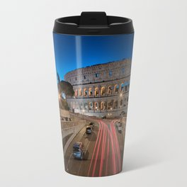 Colosseum at dawn Travel Mug