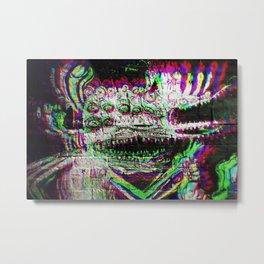 Exterme Grafiti from Madrid RGB Metal Print