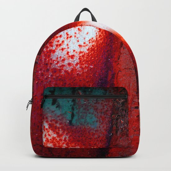 Rust in Red Backpack