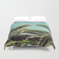 palms Duvet Covers featuring Palms by Lawson Images