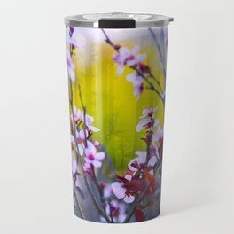 """""""The Mind Replays What the Heart Can't Delete"""" Travel Mug"""
