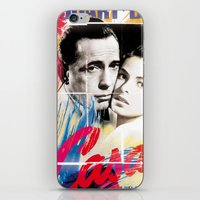 casablanca iPhone & iPod Skins featuring Casablanca by Paky Gagliano