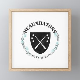 Beauxbatons Academy of Magic Framed Mini Art Print