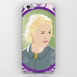 Hell on Wheels - Lily Bell iPhone Skin