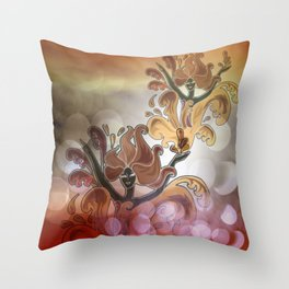 discofever -8- Throw Pillow