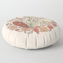 Halloween Friends | Autumn Palette Floor Pillow