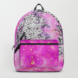 NEBULA  DREAMS TREES  PINK Backpack