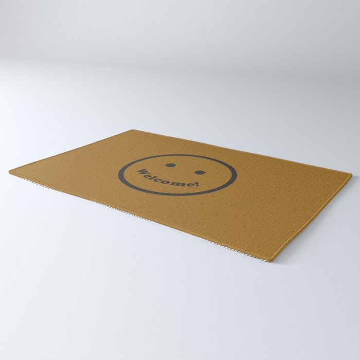 Welcome Smile Rug