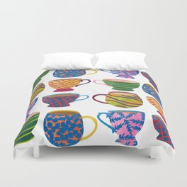 Comfort In A Cup Duvet Cover