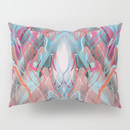 Abstract City Lung head 343. Pillow Sham