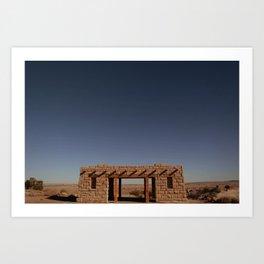 Pueblos Art Print