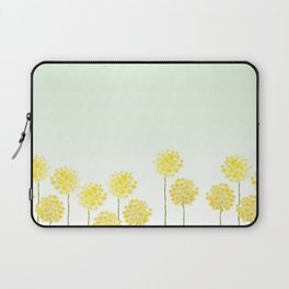 two abstract dandelions watercolor Laptop Sleeve
