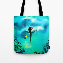 Red Flag Tote Bag