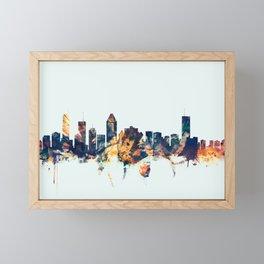 Montreal Canada Skyline Framed Mini Art Print