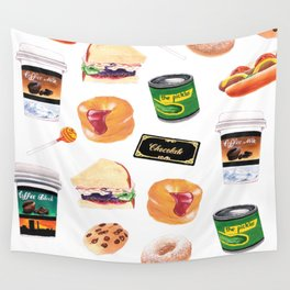 You Stuffed Your Face! Wall Tapestry
