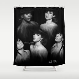 Fifth Harmony 'Reflection' Digital Painting Shower Curtain