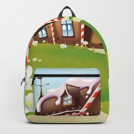 gingerbread house Backpack