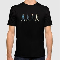 The tiny Abbey Road MEDIUM Black Mens Fitted Tee