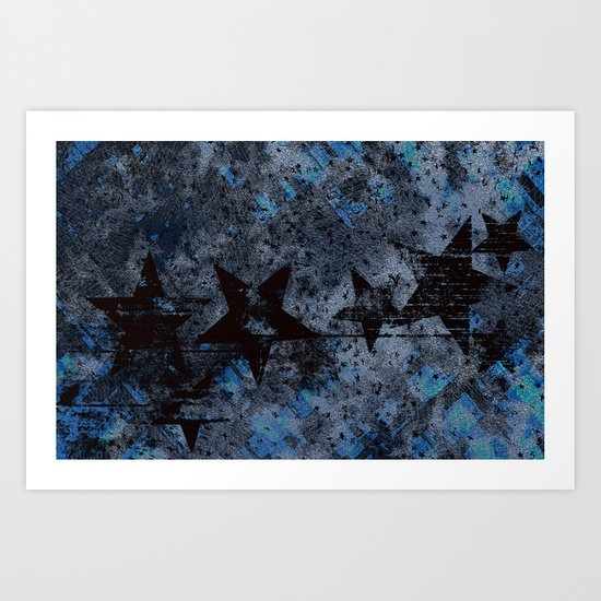 Starry Right Art Print