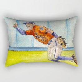 José Altuve – Astros Second Baseman Rectangular Pillow