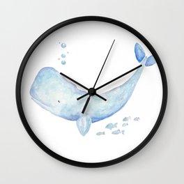 I Whale Always Love You Wall Clock